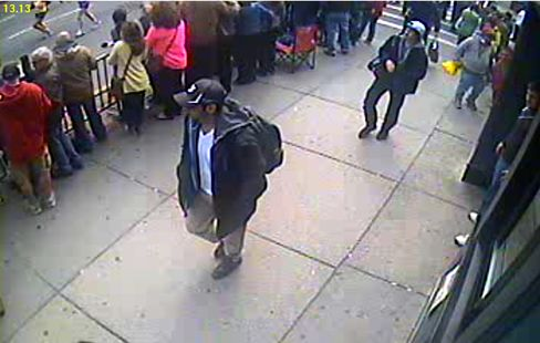 FBI Releases Images of Two Suspects in Boston Marathon Bombings