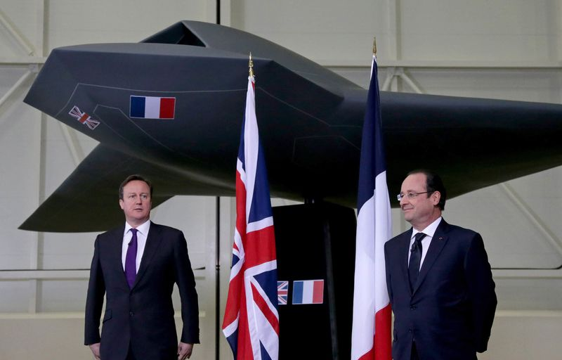Uk And France To Unveil 2 Billion Drone Project Bloomberg - Uas-frances