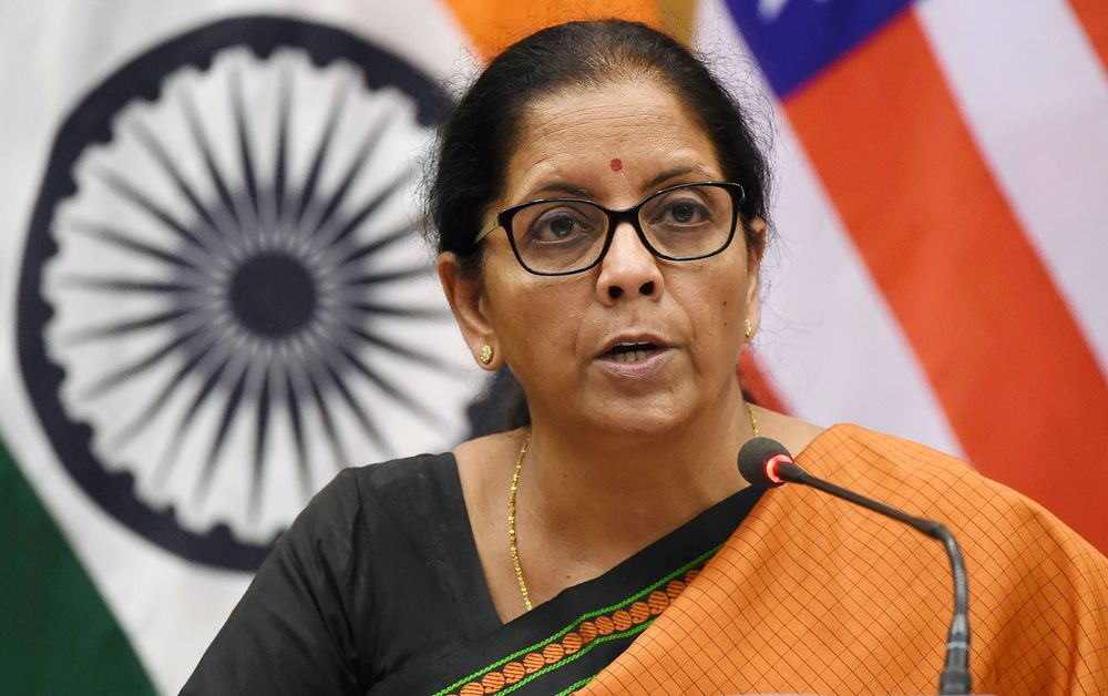Tweets of India's New Finance Minister Reveal What She Has Her Eye On