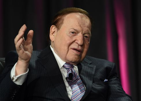 Sheldon Adelson, photographed in 2014.