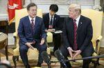 文在寅大統領とトランプ大統領