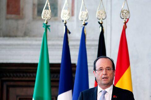 French Bonds Suddenly Look Shaky