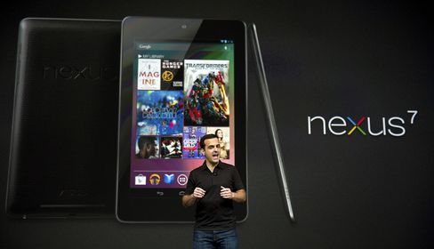Google Introduces Nexus Tablet, Stepping Up Apple Challenge