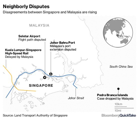 Why Singapore and Malaysia Are Locking Horns Again