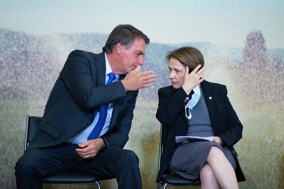 Bolsonaro's Son, Agriculture Chief Test Positive for Covid