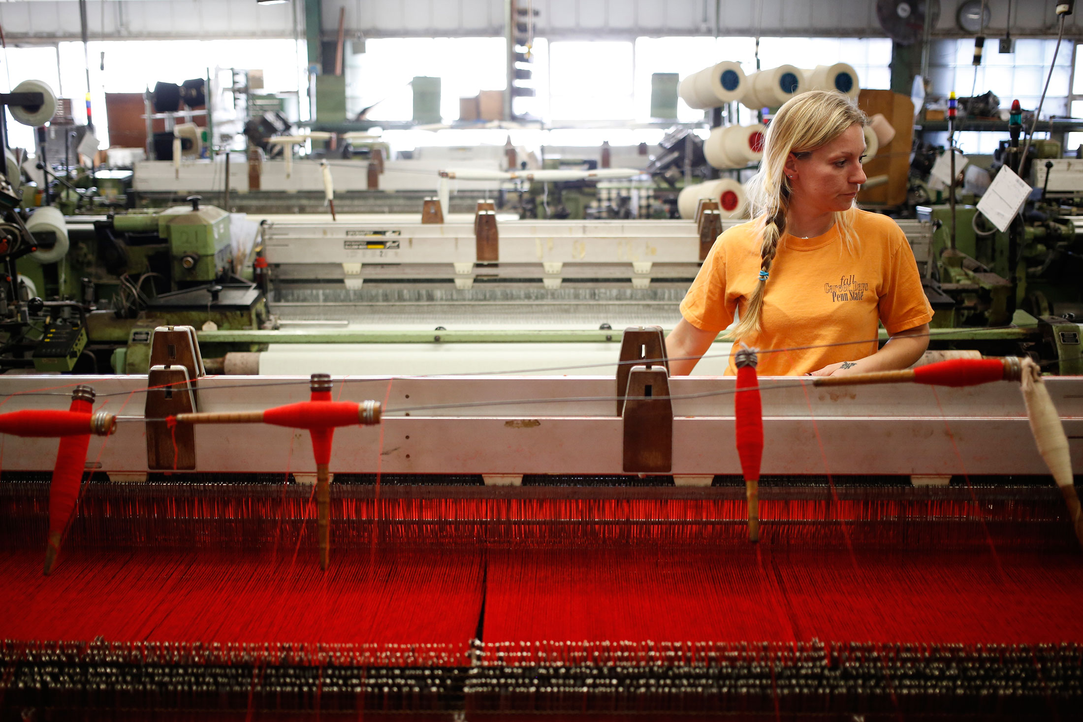 The Loom at Work