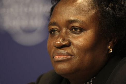 Nigeria's Central Bank Acting Governor Sarah Alade