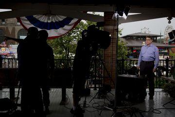 Presidential Candidates Speak At Iowa State Fair Soapbox