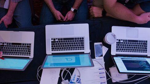 A hackathon in New York.