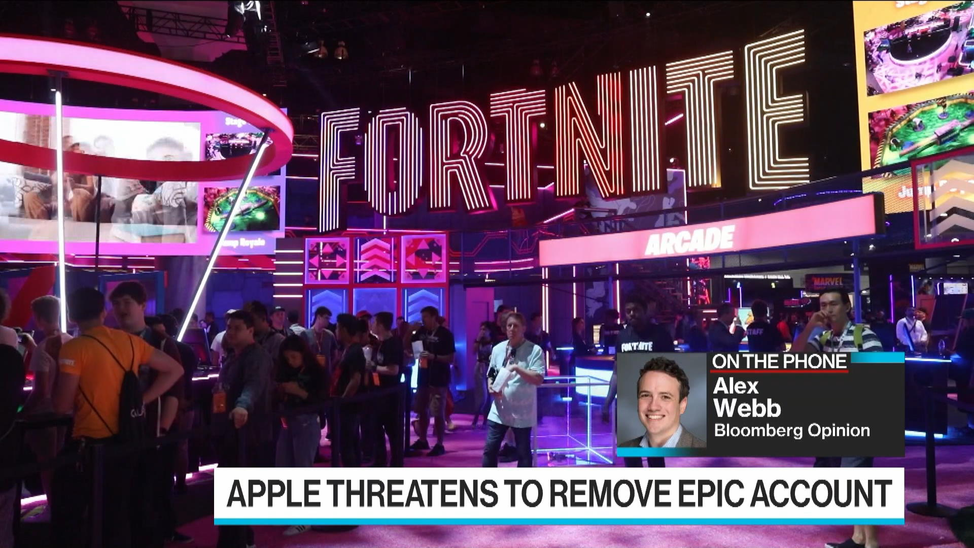 Apple Threatens to Terminate Fortnite Maker's Developer Account