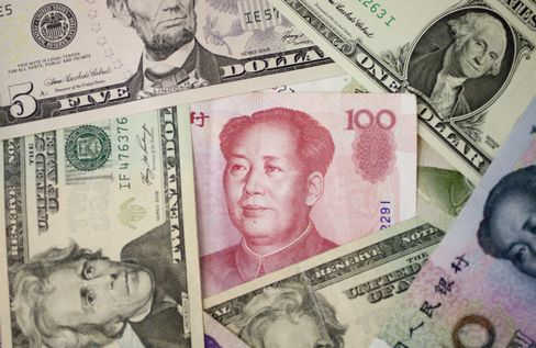 China Yuan Rises to 19-Year High, Nears Limit of Trading Band