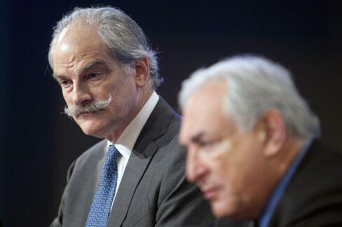 John Lipsky And Dominique Strauss-Kahn