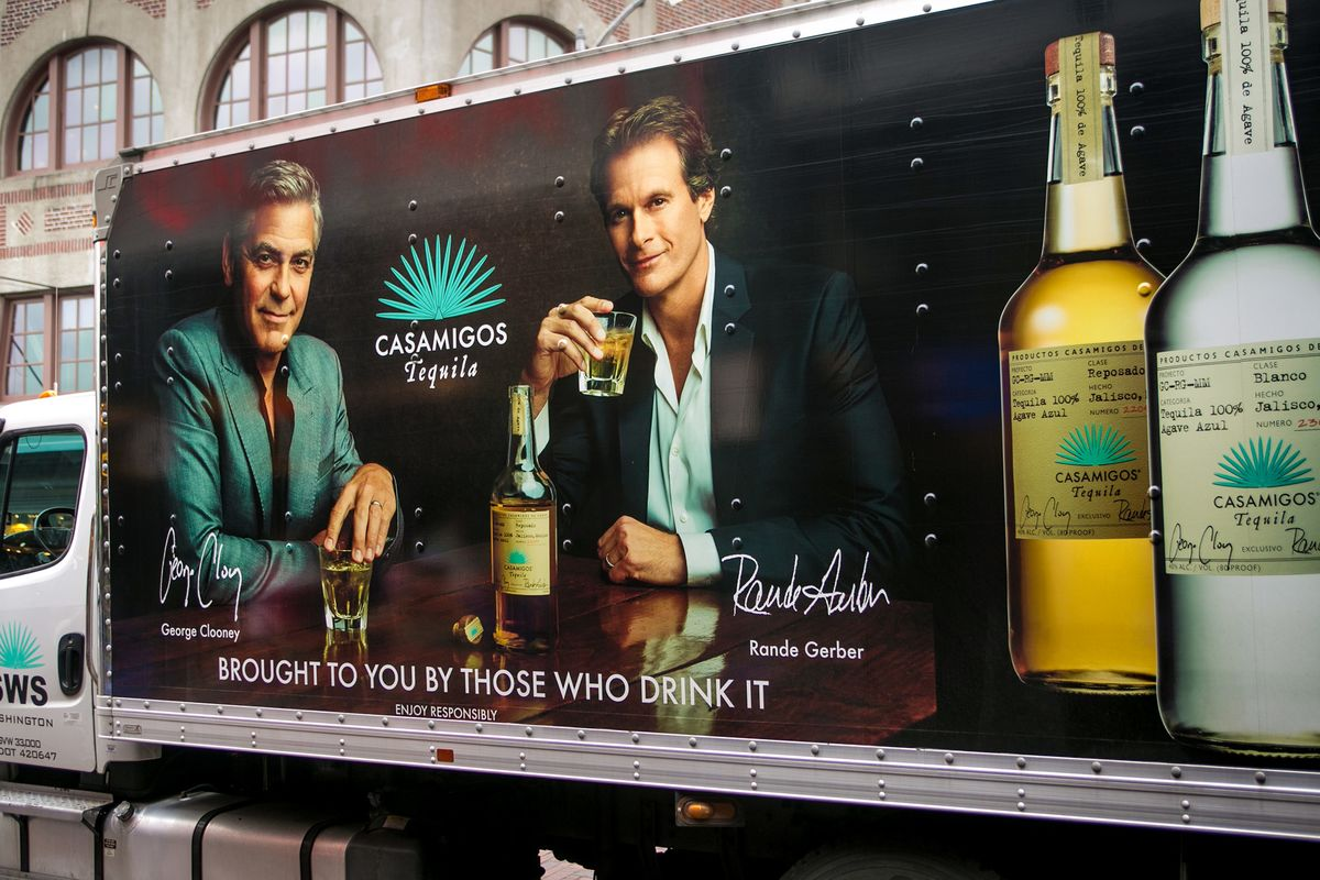 Clooney's $1 Billion Tequila Windfall Shows Power of Celebrity