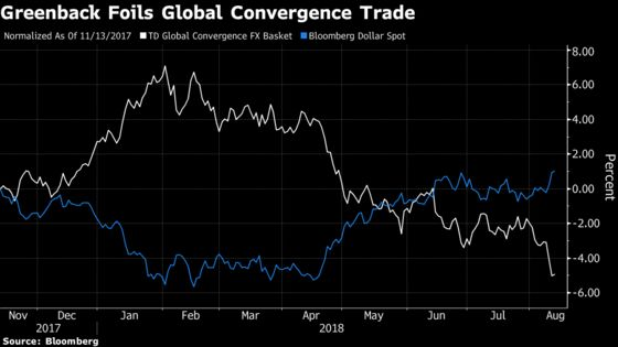 Wall Street's Bet on Global Currencies Is Bloodied With the Dollar Soaring