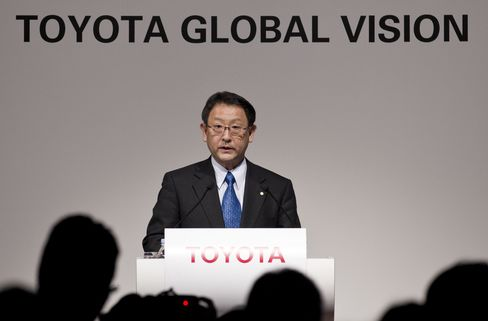 President and CEO of Toyota Motor Akio Toyoda