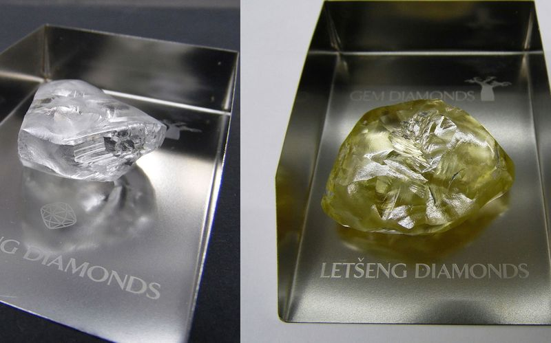 exceptional m lucara found nasch diamond botswana carat rough rubel in industry