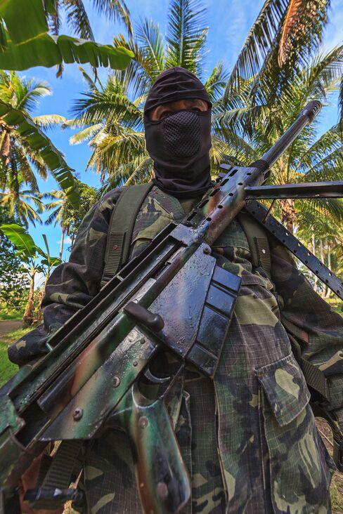 A Moro Islamic Liberation Front Sniper