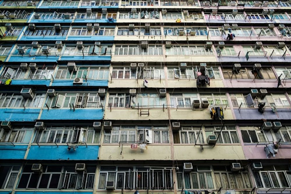 In Sham Shui Po, one of Hong Kong's poorest districts