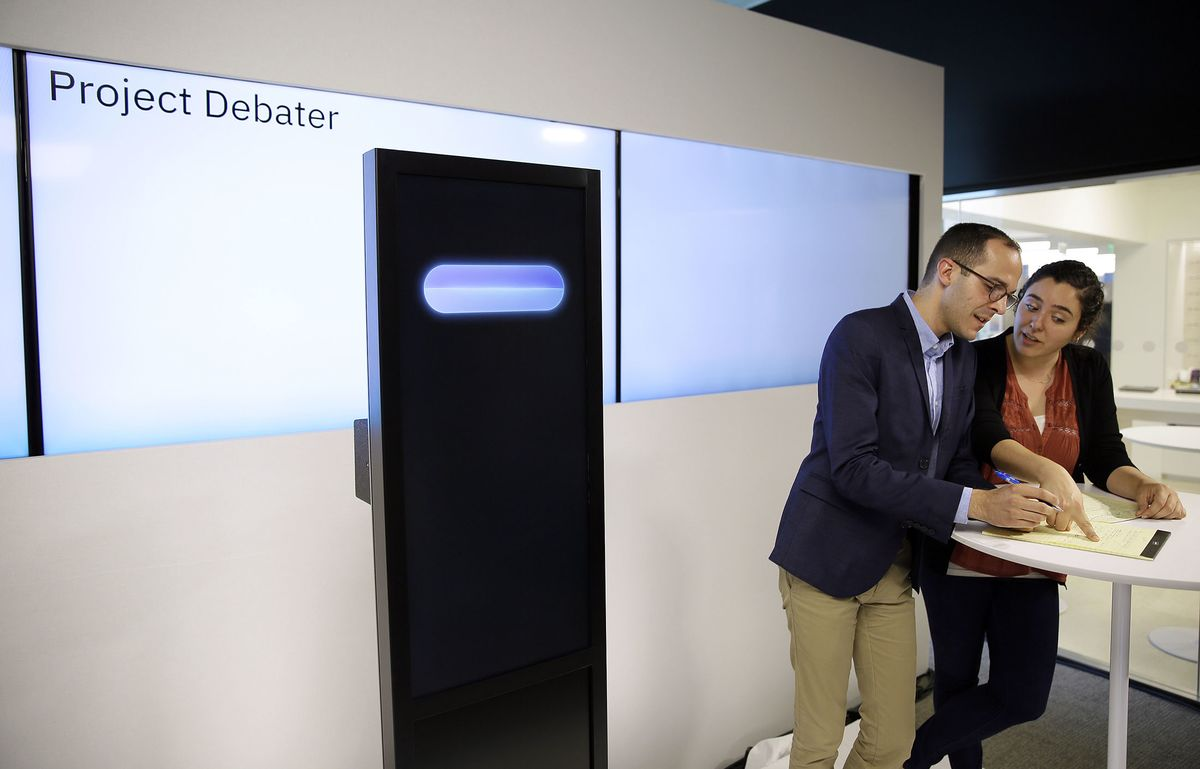 IBM's Debating AI Is Here to Convince You That You're Wrong