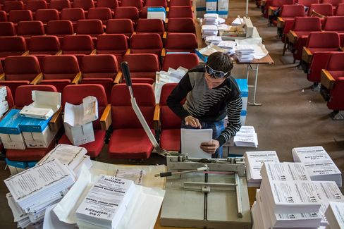 Ballot Preparations for Planned Plebiscite