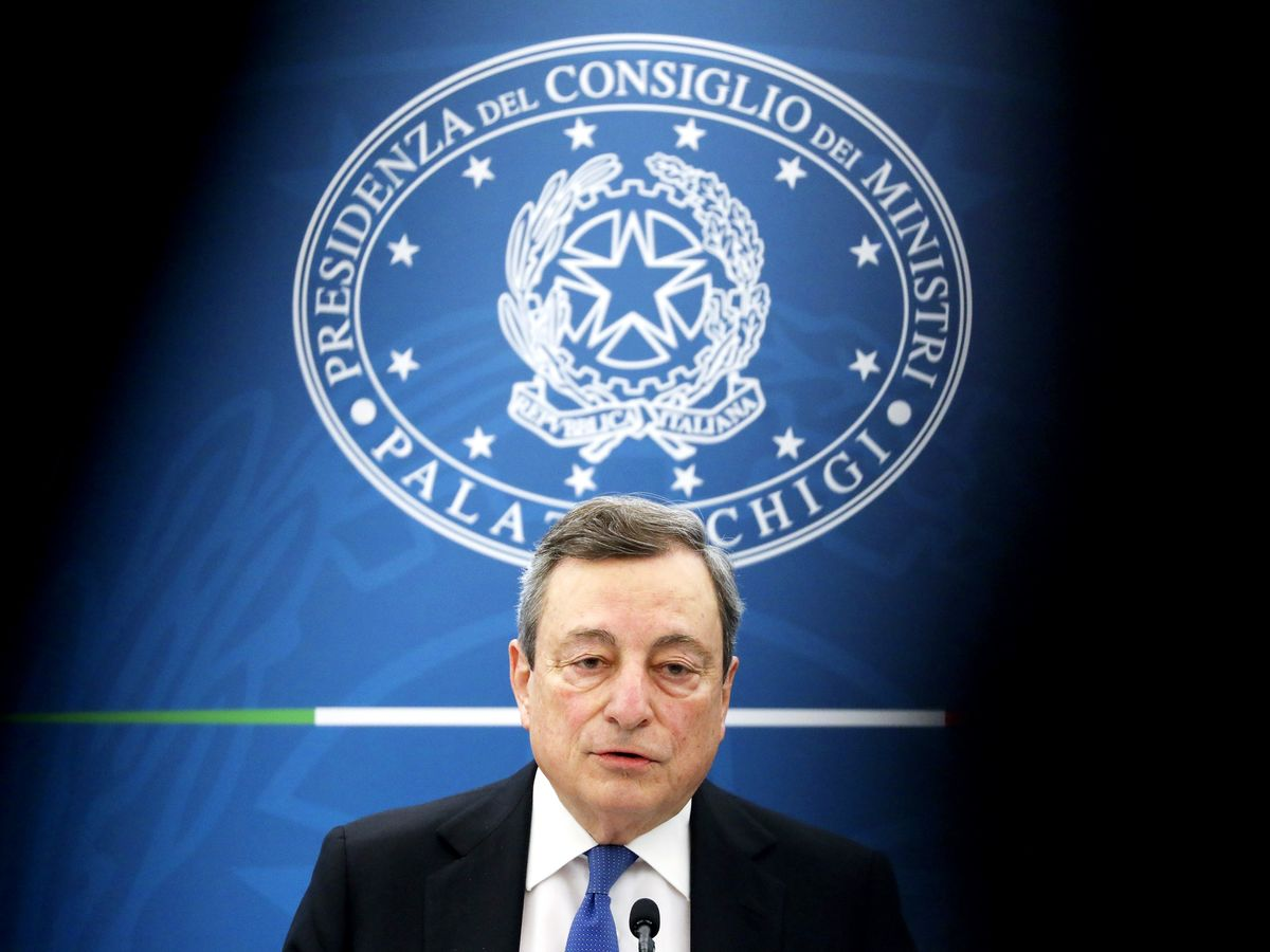 Draghi to Tell Parliament How He'll Spend Billions in EU Aid thumbnail