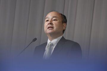 El CEO de SoftBank, Masayoshi Son, presenta los resultados del tercer trimestre