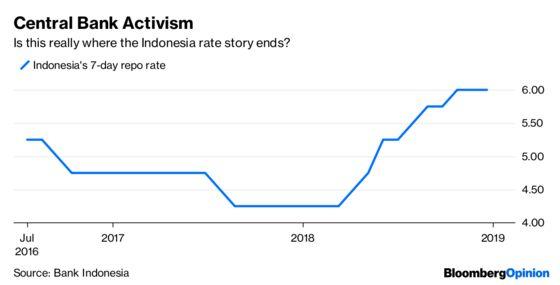Bank Indonesia Should Get a Star for Good Behavior