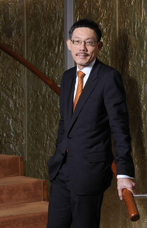 Temasek Holdings CIO Tan Chong Lee
