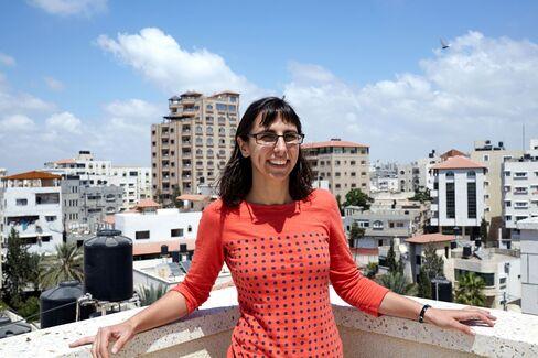 Montauk on the roof of Gaza Sky Geeks