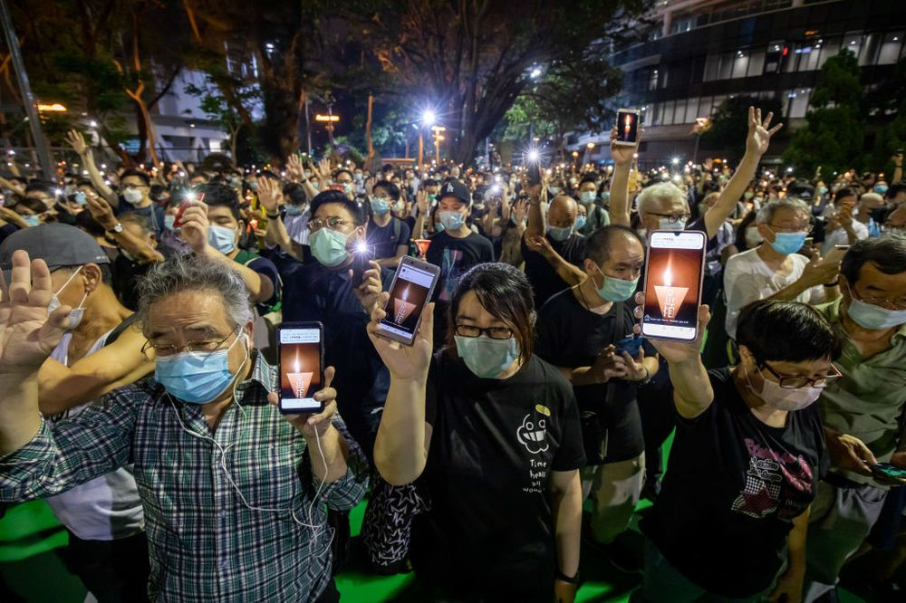 Hong Kong Protests Against The National Security Law and National Anthem Bill