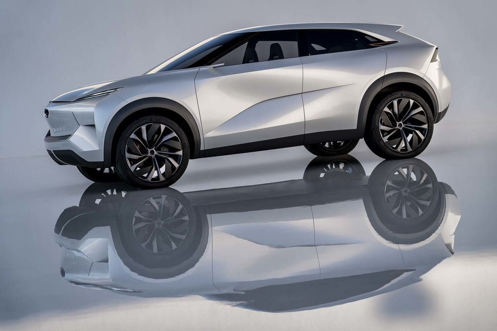 Relates To Infiniti Electric Qx Boasts Beauty And But It S Not Real