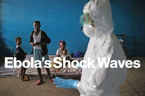 Ebola Threatens to Hobble Three Countries, $13 Billion in GDP