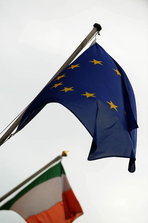 Irish EU-IMF Rescue Would Dwarf Greek Bailout on Bank Costs