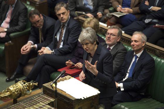 U.K.'s Brexit Stalemate Deepens Despite May's Promise to Quit