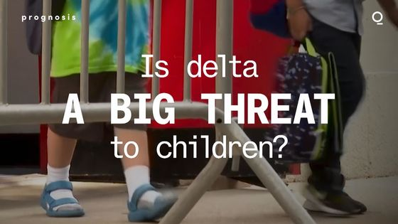 Why the Delta Variant Is Giving More Children Covid