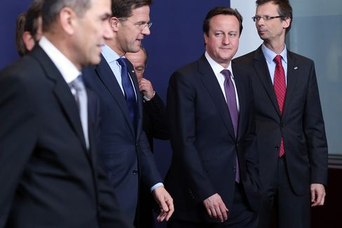 Europe Leaders Bow to Cameron Demand to Deepen Spending Cuts