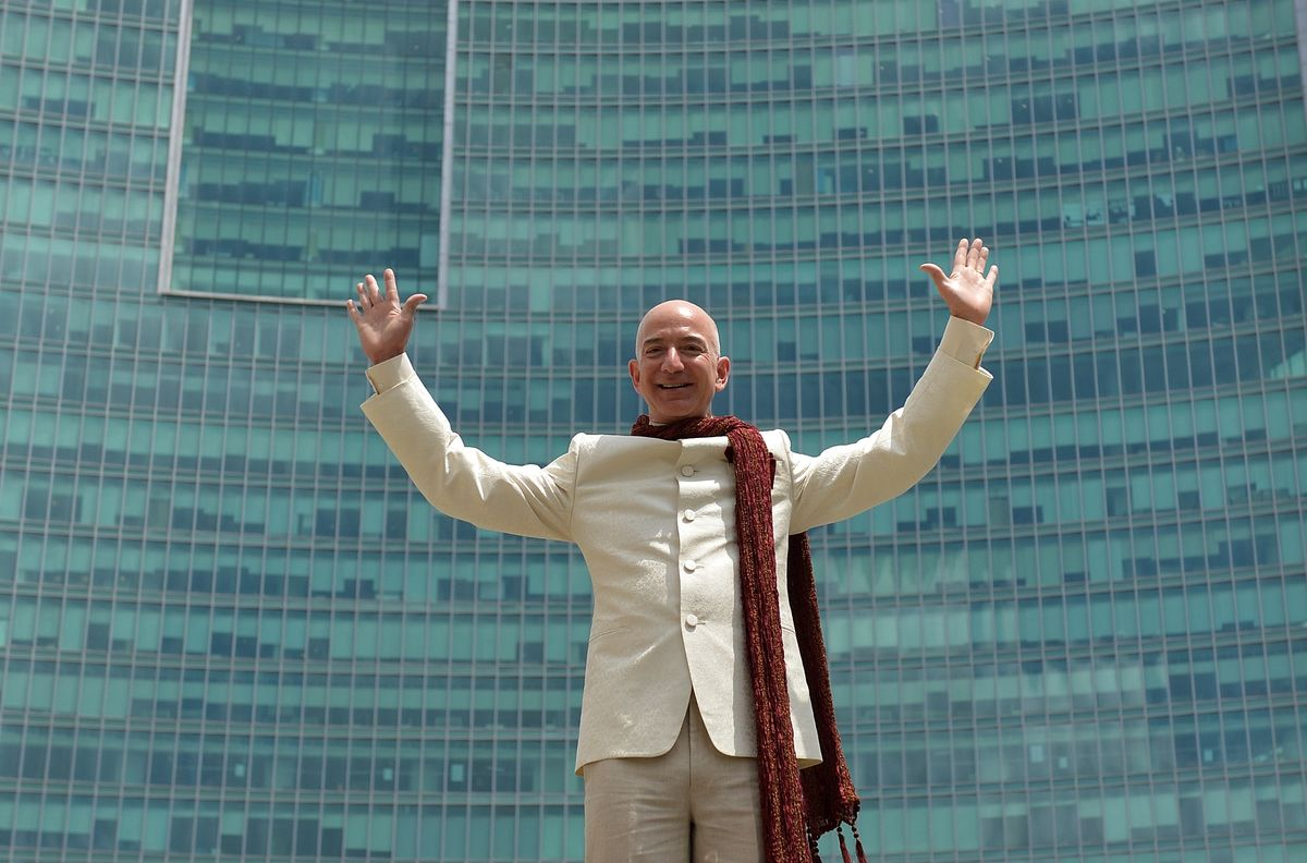 Bezos Vs. Ambani: The Billionaire Bout That Had to Happen
