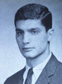 Rubin in the 1960 Harvard yearbook