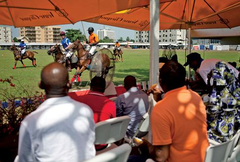 A March 3 match at the Lagos Polo Club