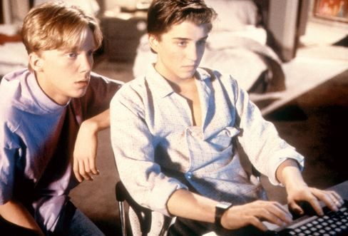 Weird Science, Anthony Michael Hall, Ilan Mitchell-Smith, 1985.