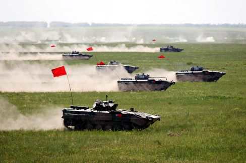 China's Chubbier Soldiers Need Bigger Tanks