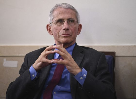 Anthony Fauci Doesn't See Covid Summer Lull as Sun Belt Cases Swell