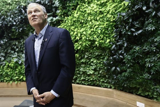 Democratic Presidential Candidate Jay Inslee Releases Climate Plan