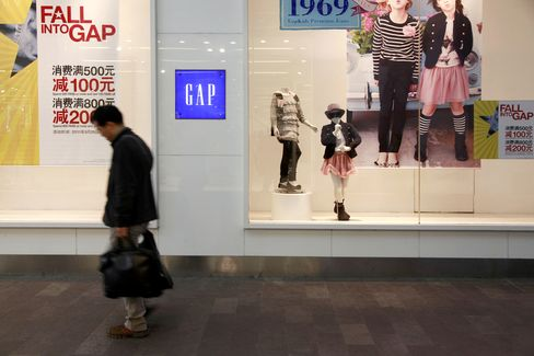 Gap Sees China Becoming Billion-Dollar Business