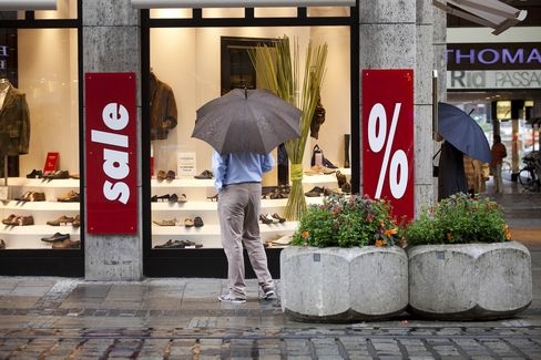 German Retail Sales Unexpectedly Fell in July as Economy Weakens