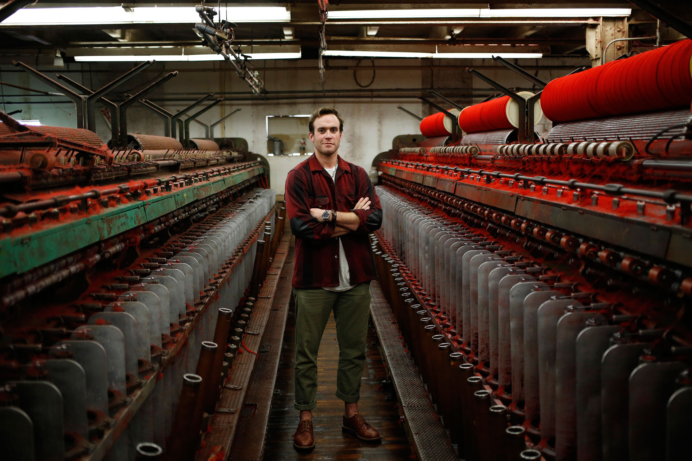 Woolrich Executive Vice President Josh Rich