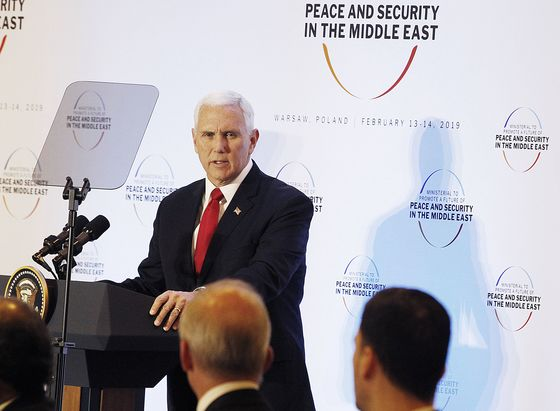 Pence Says Europe Pushing U.S. Away by Backing Iran Nuclear Deal