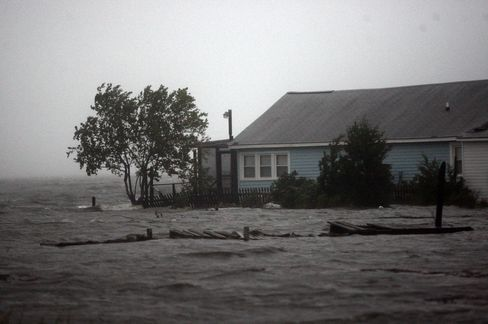 Floodwaters Rise in North Carolina