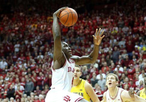 Indiana Basketball Athlete Victor Oladipo