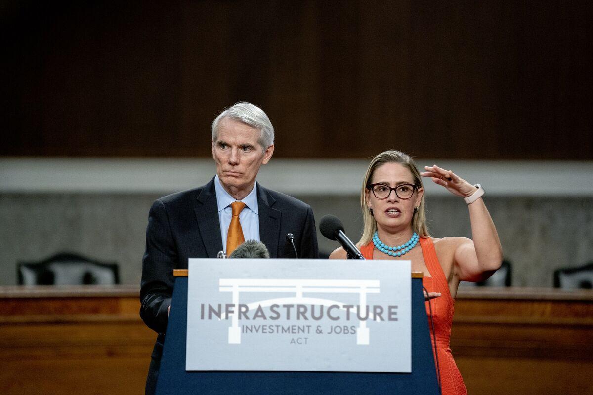 Senate Heads Toward Passage of Infrastructure Deal Next Week